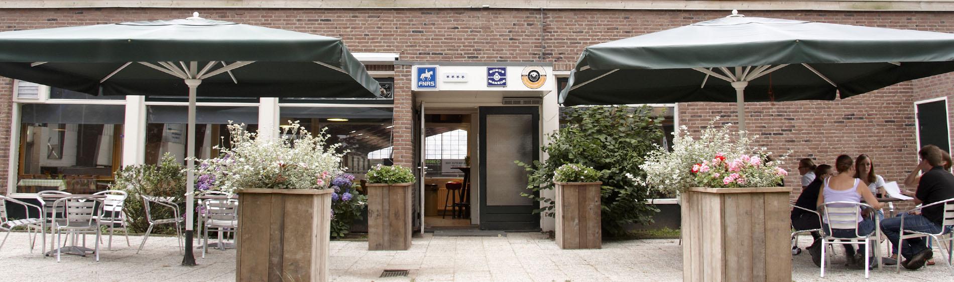 De Blokhut voordeur